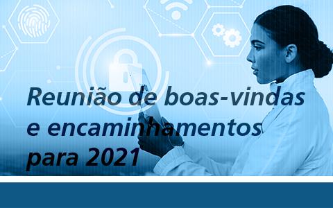 Comitê de Tecnologia   Reunião de Boas-vindas e encaminhamentos para 2021